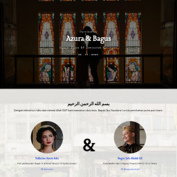 The Wedding Of Azura & Bagus